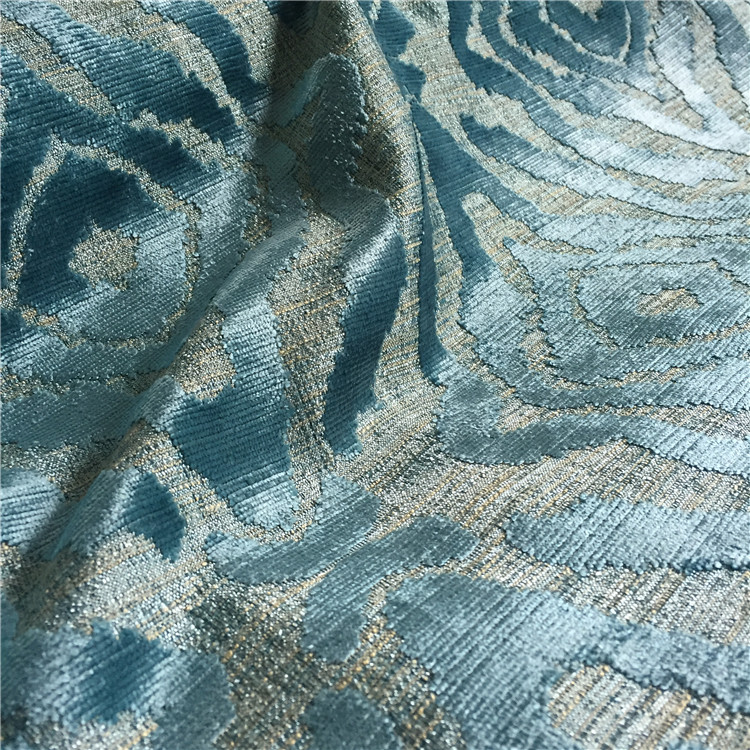 High Quality Jacquard Velvet Fabric In <strong>Polyester</strong>/Viscose