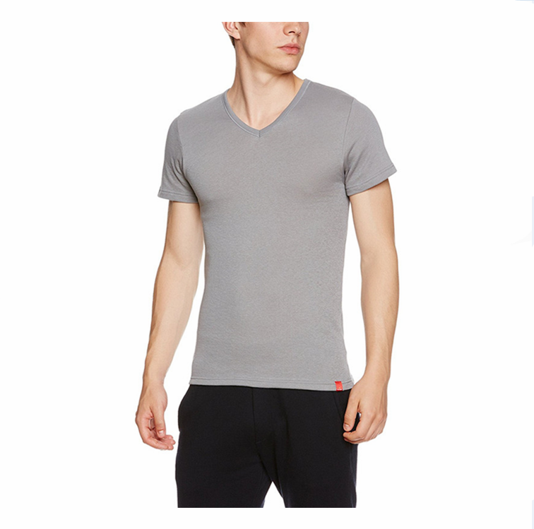 Designer clothing manufacturers in china tee 100% cottton v neck t shirts cheap white t shirts in bulk