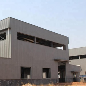 Turnkey Project Metal Frame Steel Structure Plant/ Warehouse/Workshop