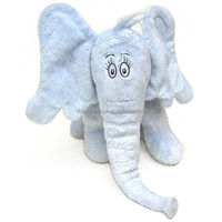 CE Standard Blue Color Elephant Plush Toy With Big Ears And Nose 10'' Custom Cute Stuffed Soft Baby Plush Toy Elephant