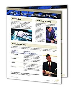 Effective Business Writing Guide - Productivity & Business Training Quick Reference Guide by Permacharts