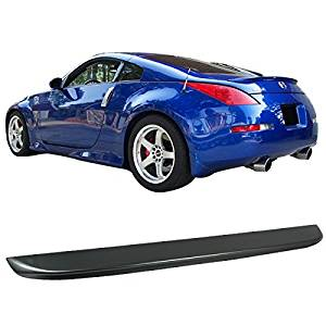 Painted ABS Trunk Spoiler For 2003-2008 Nissan 350Z Coupe 2 Door WV2 SILVERSTONE