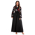 elegant sexu back open evening dress veil muslim hijab moroccan abaya jibab velvet dress for girls