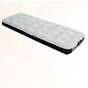 R&R Honeycomb Inflatable Bed Mattress/Flocking Outdoor Mattress Inflatable Flocked Air Mattress/Single People