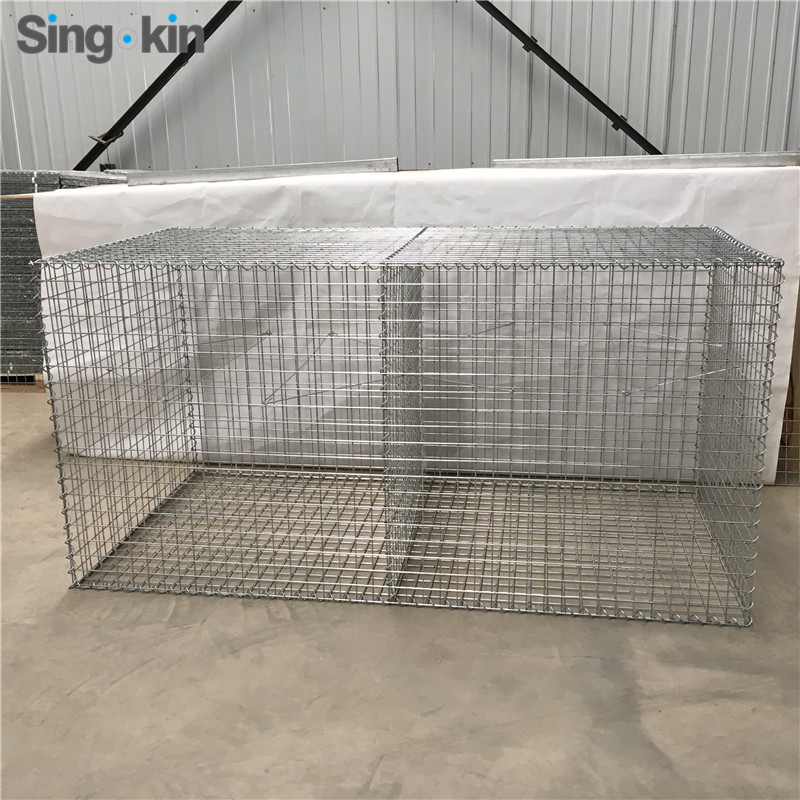 Hot sale China supplier welded gabion box/welded mesh galvanized wire mesh gabion