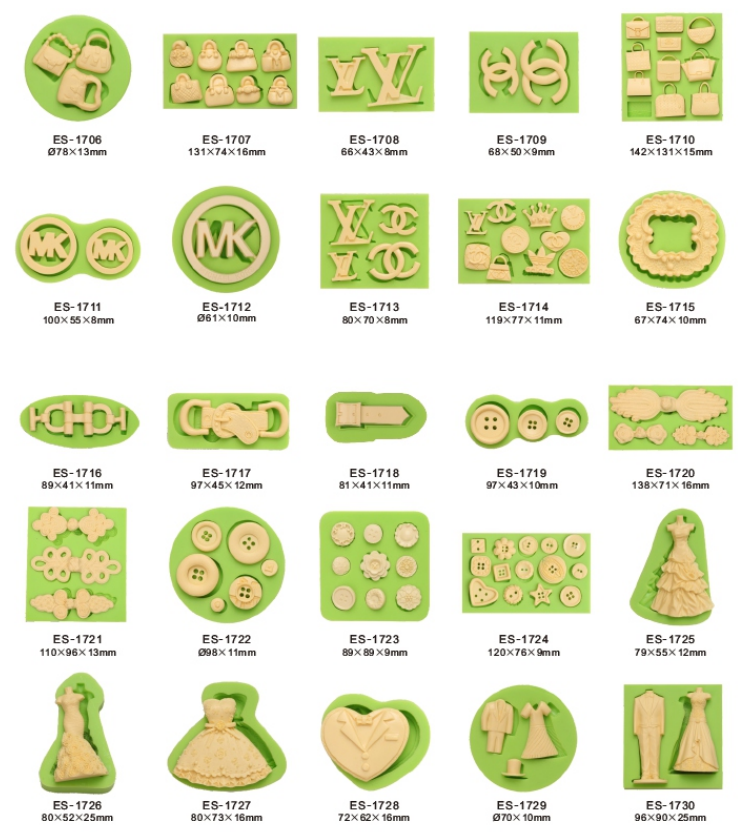 Women Series Fondant Mould Silicone Molds for Cake Decorating.png