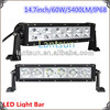 Toyot a Land Cruiser 60W 14.7inch Cr ee LED Work Light Bar