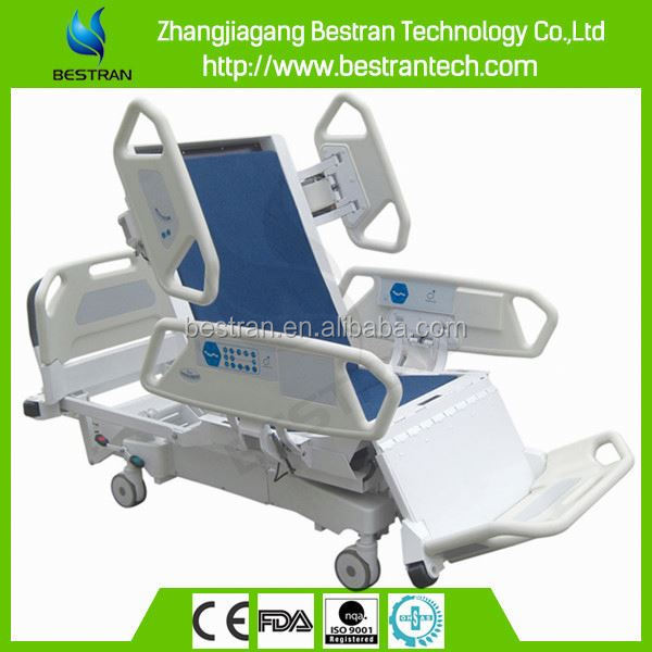 BT-AE029 hospital CE ISO 8-Function with weighing scale Electric ICU icu x ray electric nursing beds