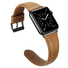 38mm 42mm per apple serie di orologi 1 2 3 4 In Vera Pelle Watch Band <span class=keywords><strong>Strap</strong></span>