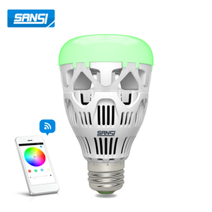 wireless color temperature adjustable led bulb light