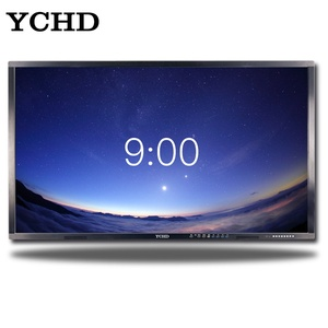 wall mounted display hd led glass and digital multiple interfaces smart TV for 70 inch