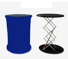 Réception Portable tension tissu autoliftable table de promotion compteur de salon commercial