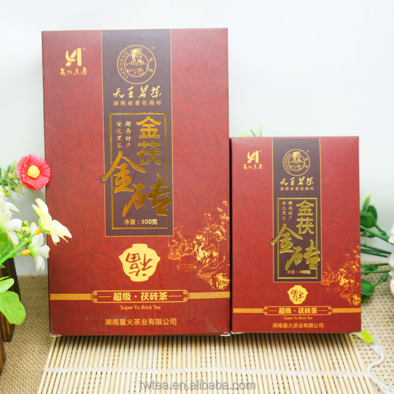 China famous super Fu tea puer tea piece400g 800g dark tea