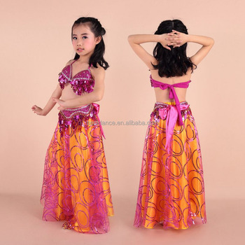 Bestdance Children High Quality Unique Arab Sexy Nice Belly Dance Costume Stage Performance Dance Costume For