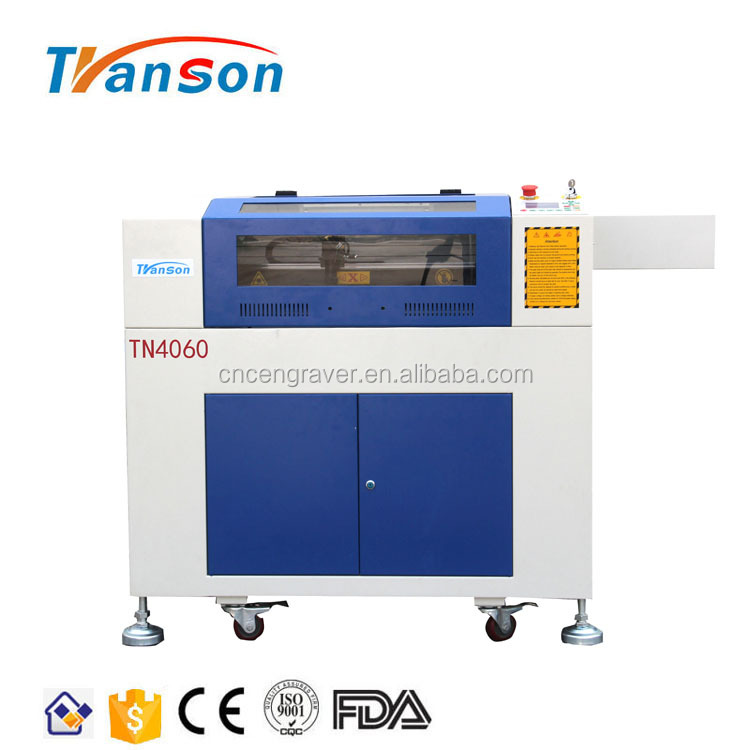 4060 60W Mini Size CO2 CNC Laser Engraving Cutting Machine For Glass Cup Grave
