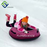 80cm Inflatable Snow Sled Tube for Kids Durable Snow Tubes