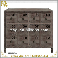 cheap countryside indoor furniture reclaimed antique decorative wooden cabinet