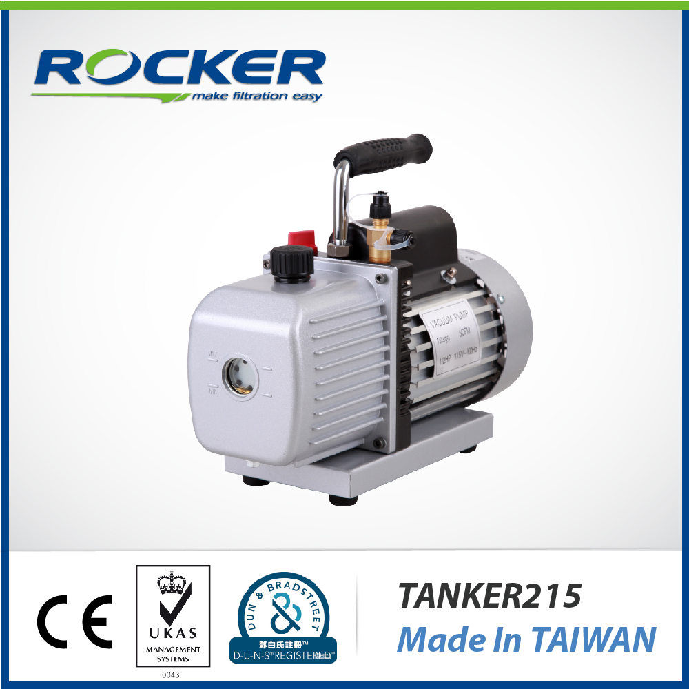 Rocker Scientific 220V Tanker 215 Electric Oil Pump Rotary Vane Vacuum Pump