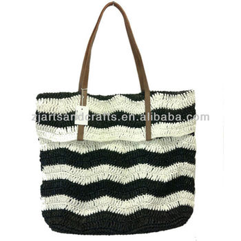TC Lining 2013 fashion natural beautiful and generous straw bag