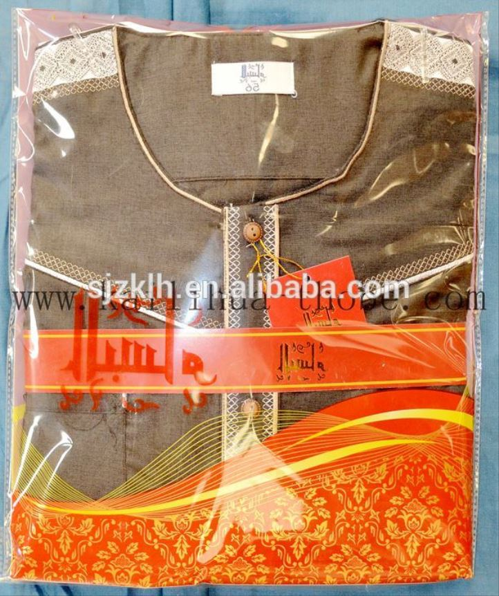 Factory Wholesale Thobe 2017 Arabic Kurta Jubah Dubai Men Abaya Muslim Wear