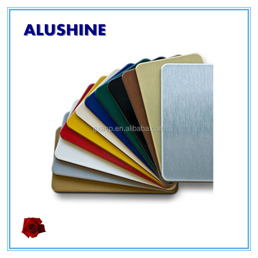 Alushine acm acp sheets manufacture in China with low price