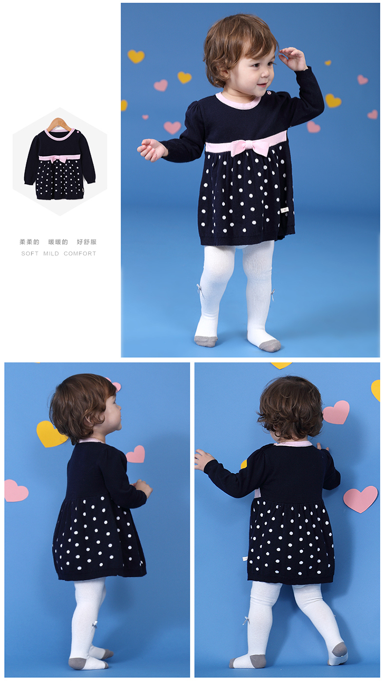 2015 Wholesale Baby Frock Dresses Girls Korea Style Girl Clothes Children