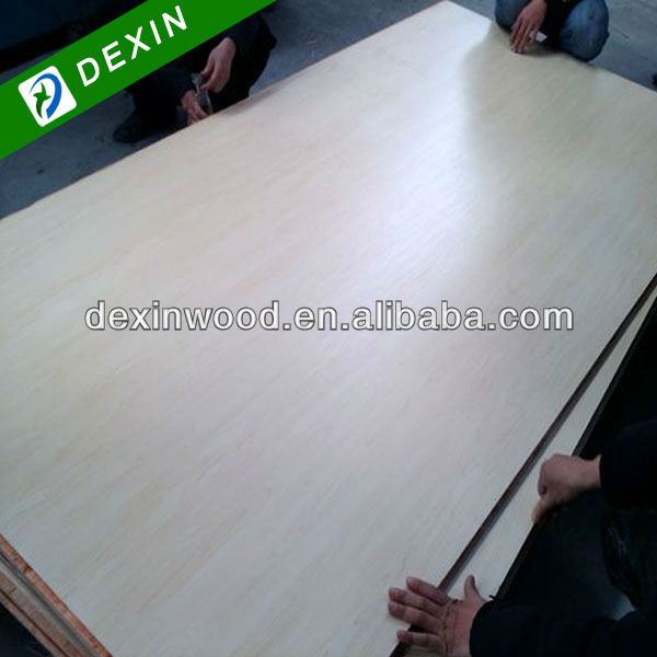 Natural or Artificial Veneer Fancy Maple Plywood for Furniture and Interior Door