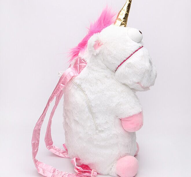 Despicable me unicorn backpack despicable me unicorn bag plush unicorn toy backpack toys for girls kids
