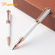 High quality Metallic Gel And Ball point Metal Twin Gift Set Pen