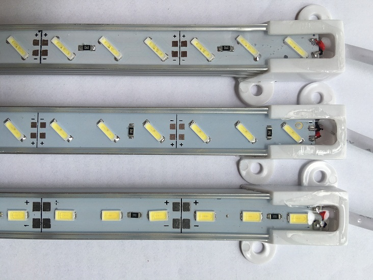 5050 5630 7020 8520 strips led 72SMD RGB Waterproof IP67/led light strip bars/waterproof ip65 led rgb rigid bar light