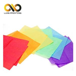 Paper packaging wedding gift tissue paper with pantone color