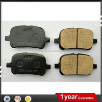 High quality custom auto tokico brake pads