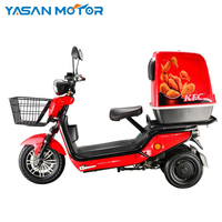 60V 1000w/1600w dual motor electric scooter food delivery with EEC