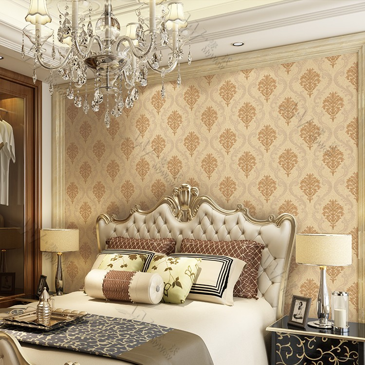 a26 1wy110026 industrial construction building material luxury decoration pvc hotel room project wallpaper