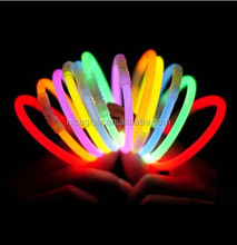 50 gemengde Kleur Armband Light Party Glowstick dark