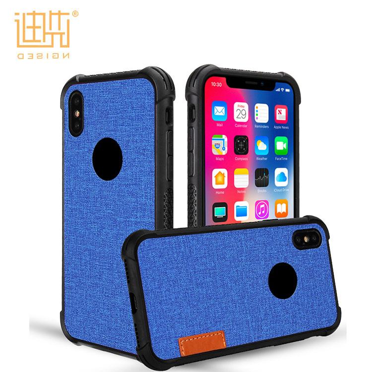 Luxus Zurück Fall Für iPhone X Marke Phone Cases Rock Weiche TPU PU Leder Telefon Abdeckung Alle Runde Schützen Shell für iPhone X