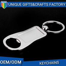 Custom Cheap Zinc Alloy Aluminum Bottle Opener Keychain