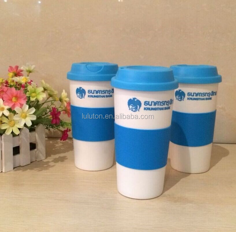 And Buy Assorted Mug Lid Reusable Hot Cap Spills Screw Cold Non Prevents Colors Mug Open Slip insulated Flip Grip Travel Leaks UVGLzMSpq