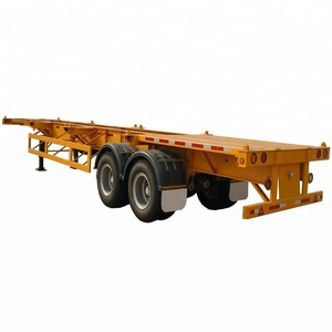 Skeleton Container Chassis Trailers and Semi Trailers