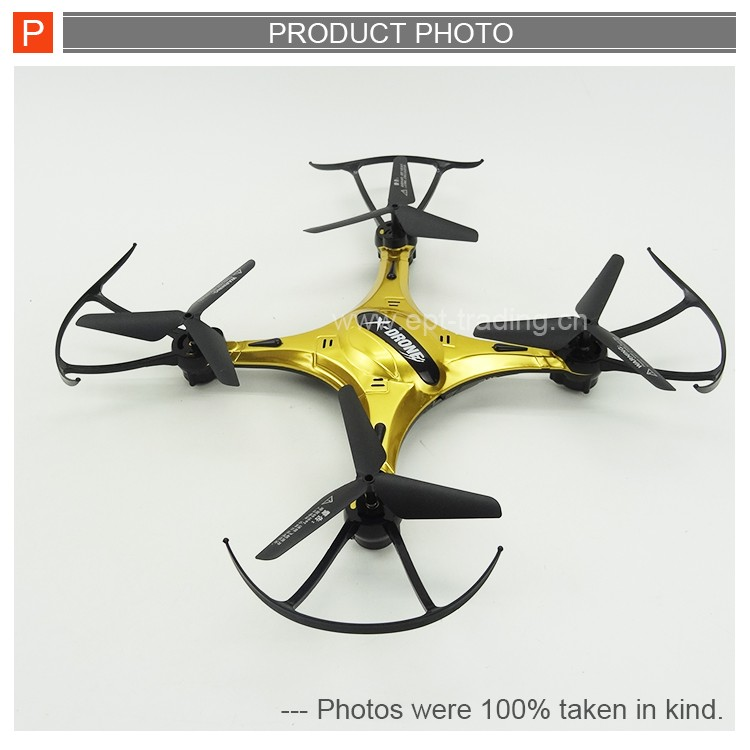 Top quality 2.4g alloy body rc drone helicopter for wholesale