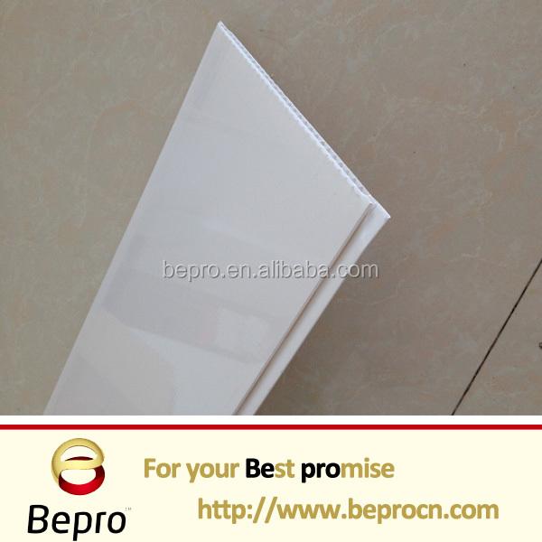 Blanc brillant pvc plafond et pvc panneau mural plafonds for Panneau mural pvc