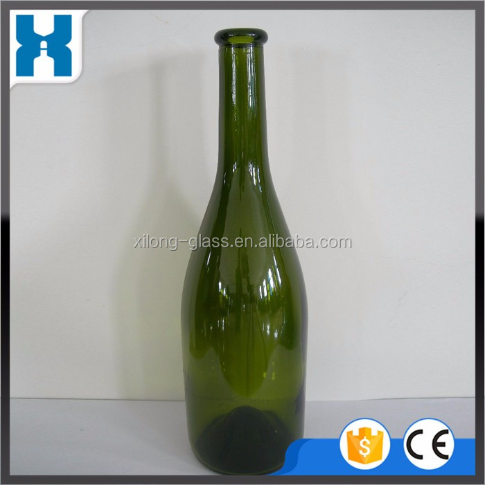Empty 1000ml Champagne Glass Bottle For Sale