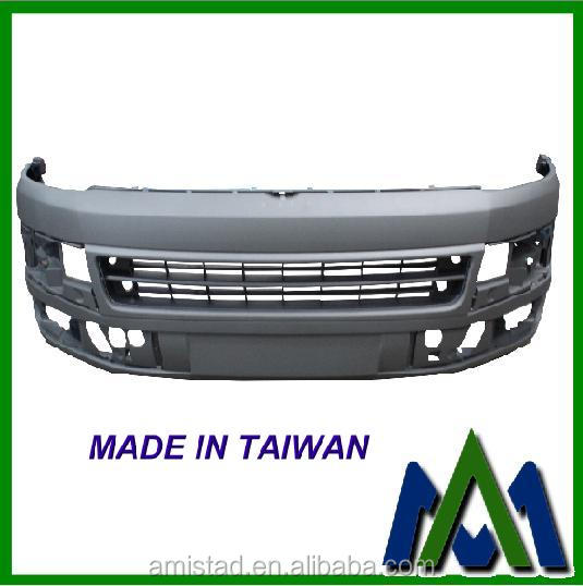 BODY KIT FRONT BUMPER FOR VW T5 TRANSPORTER 2010 W/O PARKING AID OEM:7E0807217B7G9 VW AUTO PART BUMPER