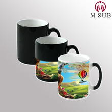 11oz sublimation ceramic mugs magic personalized