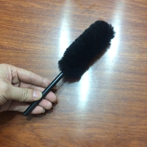 full size car cleaning brush and duster,sheepskin wool brush and duster