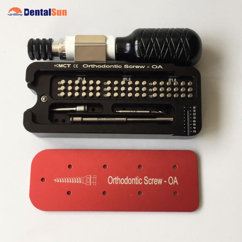 moa 01 dental mini orthodontic screw 0a titanium orthodontic screw rh alibaba com