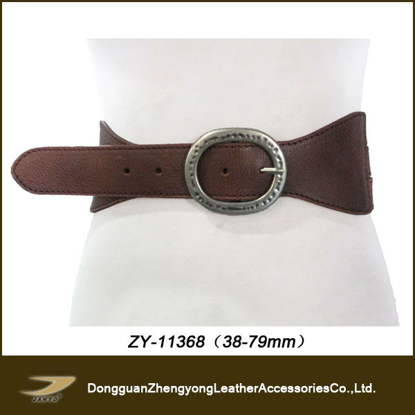 Women wide pu belts plus size belts(ZY-11368)