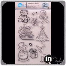 Timbri trasparenti <span class=keywords><strong>all</strong></span>'ingrosso per scrapbooking e Natale