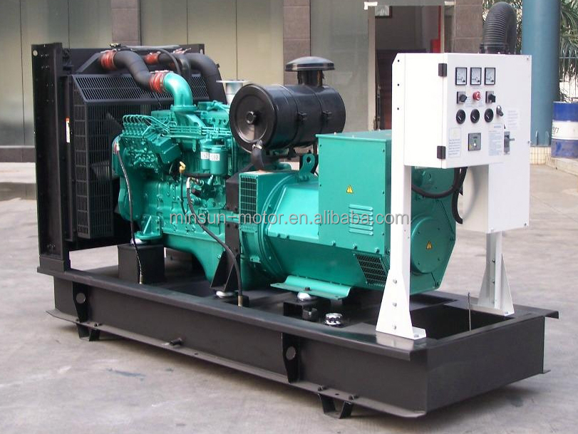 diesel generator 365 kva with iso ce certification