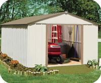 WZH 10x14 Steel Storage Shed Kit/garden shed/tool shed for sale in China